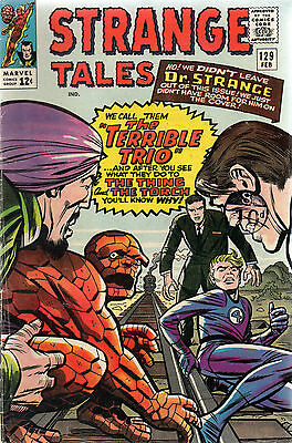 Strange Tales # 129 / Fine- / The Terrible Trio.