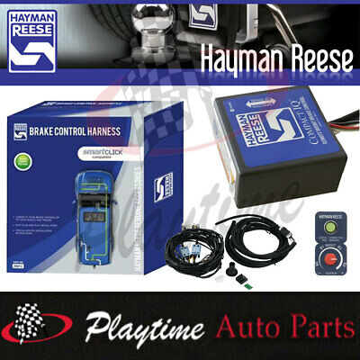 Hayman Reese Remote Head Compact IQ Electric Brake Controller With Wire Harness