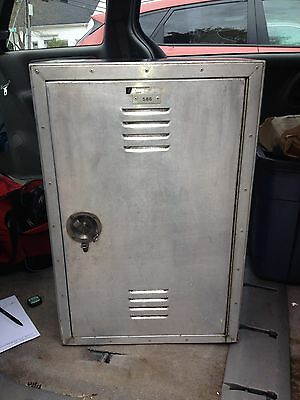 "1950's 27"" Work Locker"