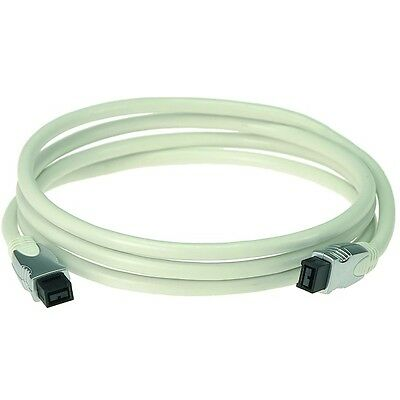 NEW Klotz FW9945 4.5m, 9 pin, Firewire 800 Cable w/12 Month Warranty -RRP $64.95