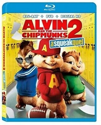 Alvin & the Chipmunks: Squeakquel [New Blu-ray] Pan & Scan, With Movie Cash