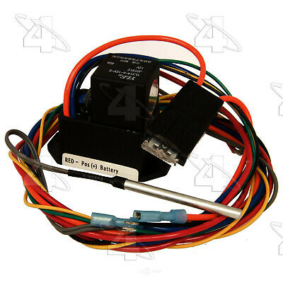 Engine Cooling Fan Controller-Temperature Switch 4 Seasons 35879