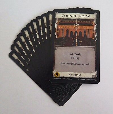Dominion Replacement Council Room Card x 11