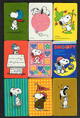 Vintage Swap/Playing Cards - Snoopy x 9 (1)