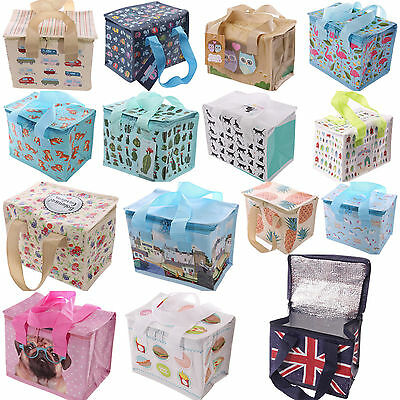 Woven Cool Bag Lunch Box School Office Picnic Insulated Thermal Cooler 5 Litre