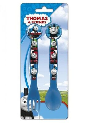 Thomas The Tank Engine Toddler/Baby 2 Piece Spoon & Fork Cutlery Set