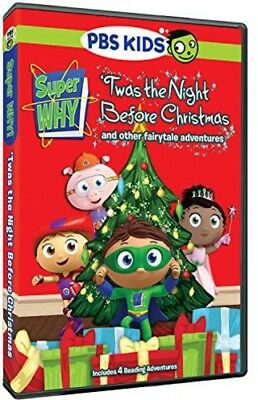 Super Why: Twas The Night Before Christmas & Other DVD