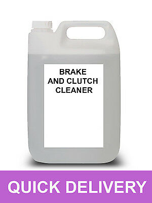 5 Litre Brake And Clutch Cleaner 5L Eliminates Squel No Residue 5000Ml
