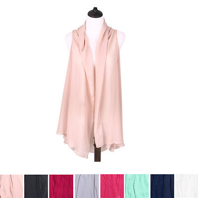 eb2dc365a224d TrendsBlue Multi Use Solid Color Chiffon Kimono Scarf Wrap Vest Beach Cover  Up
