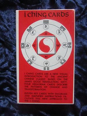 VINTAGE I CHING CARDS. Tarot. CARDS AND COINS SEALED! Eastern Divination RARE