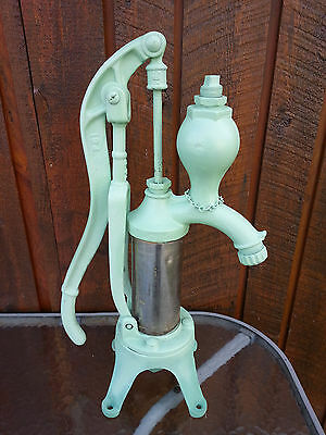 BEAUTIFUL OLD Cast Iron Hand WATER PUMP