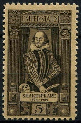 USA 1964 SG#1232 William Shakespeare MNH #D36630
