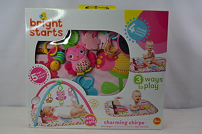 Bright Starts Baby Activity Gym And Play Center With Charming Chirps Fashion