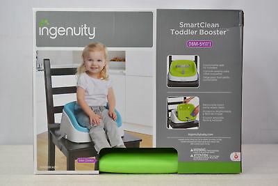 Ingenuity Smart Clean Toddler Booster Seat With Removeable insert Green Color