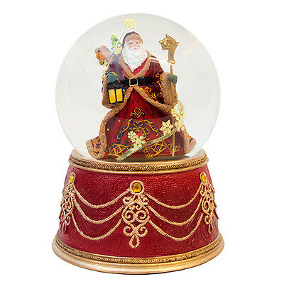Santa Claus / Father Christmas Snow Globe (Musical)