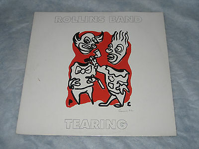 "Rollins Band - Tearing (Imago Records 4 Track 12"" Vinyl EP -1992)"