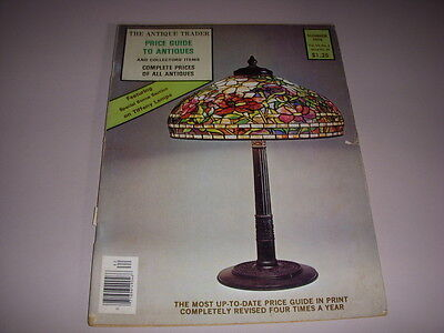 Vintage THE ANTIQUE TRADER, SUMMER, 1976, PRICE GUIDE TO ANTIQUES, TIFFANY LAMPS