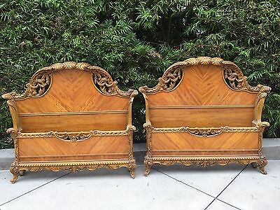 Louis XIV Antique Bedroom Set