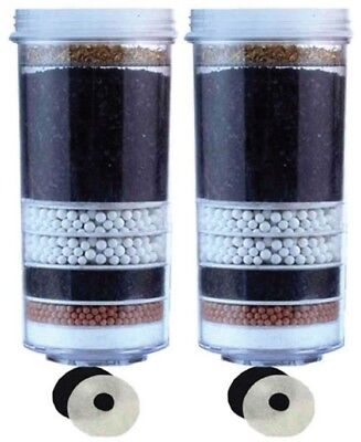 2 x New Awesome Water Filter 8 Stage Fluoride Reduction Control KDF AA VALUE +