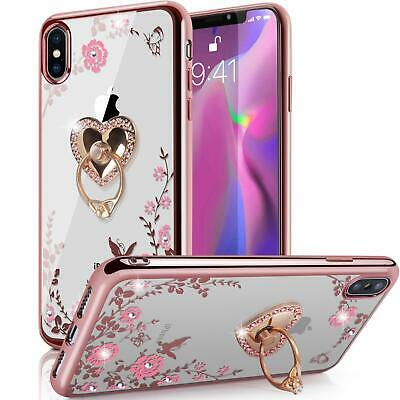 US Shockproof Silicone TPU Clear Case Cover for iPhone XS XS Max XR 678Plus