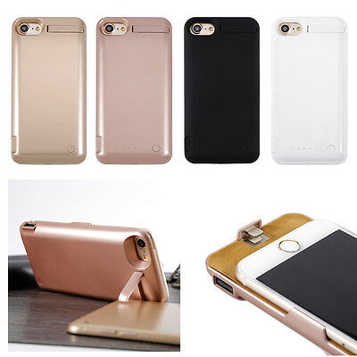 For iPhone 7 10000mAh Power Bank Extra Battery Charger Case Backup Pack Cover