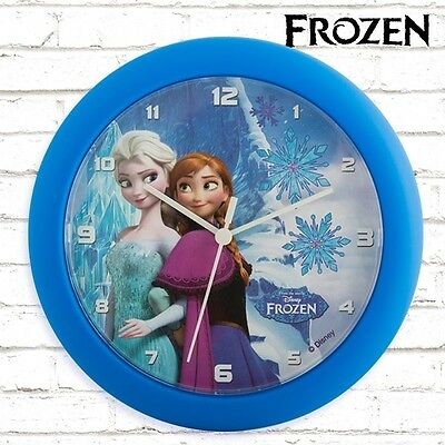 Reloj De Pared Frozen 25 Cm.