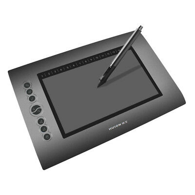 "Huion Drawing Graphics Tablet 10""x6"" USB Digital Writing Design Tablet Board UK"