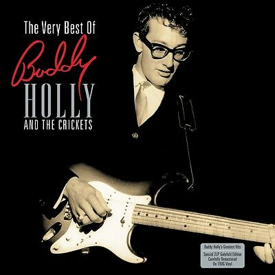 2 x LP - Buddy Holly - The Very Best Of Buddy Holly & the Crickets - Rockabilly