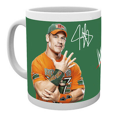 Official Licensed Product WWE Ceramic Mug John Cena Cup Tea Gift Box Coffee New