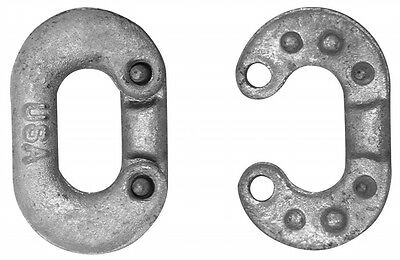 Apex Tool Group - Chain .96.5cm . Galvanised Steel Connecting Link 5200634 - Pac