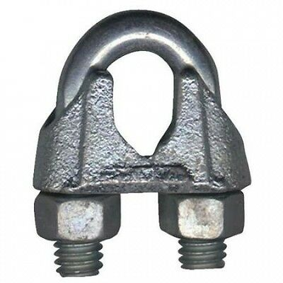 0.5cm Stainless Steel Wire Rope Clip T7633003. Free Delivery