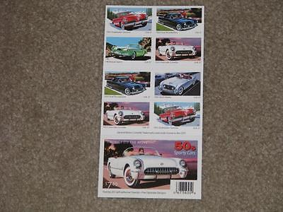America on the move-50`s Sporty Cars booklet of 20