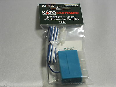 Kato n scale 3 Way Extension Cord  90cm 24-827 Unitrack / n gauge