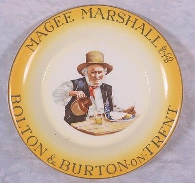 Vintage Magee Marshall & Co Bolton Beer Advertising Breweriana Pub Ashtray 1950s