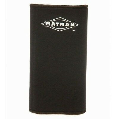 New Matman #44A Adult Neoprene Wrestling Wrestlers Knee Sleeve Pad Black SML-XL