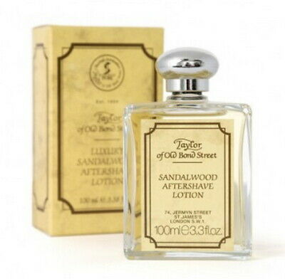 Taylor of old Bond Street Sandalwood After Shave Lotion 100ml England
