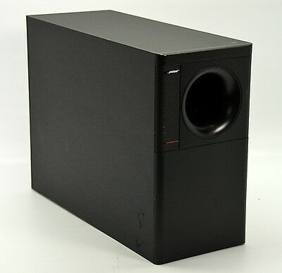 how to open bose acoustimass 5 subwoofer