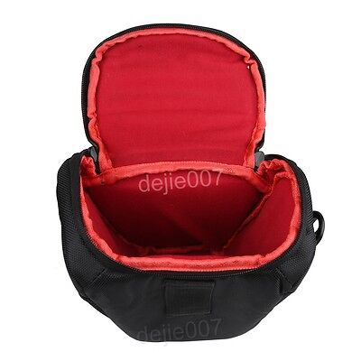 Waterproof Portable Camera Shoulder Case Bag for Nikon DSLR D90 D5100 D5200 D320