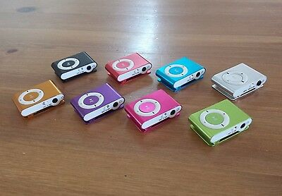 MINI MP3 PLAYER BRAND NEW 8GB or 16GB MEMORY WITH CLIP - Local Brisbane Seller
