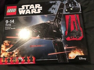 LEGO Star Wars Rogue One 75156 Krennics Imperial Shuttle Brand new and sealed