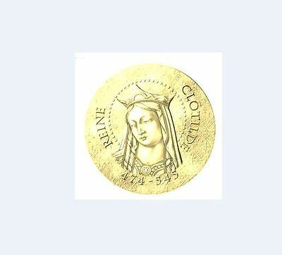 2016 KÖNIGIN REINE CLOTILDE - 50 Euro 1/4 Uz Gold Or PP/PROOF 1.000 Ex