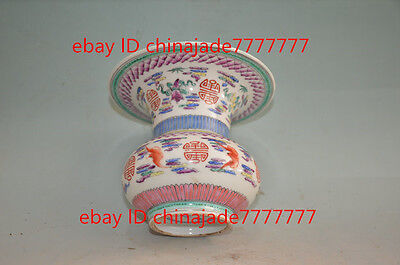 China collection of mountain farmers Old YongZhengNian famille rose porcelain