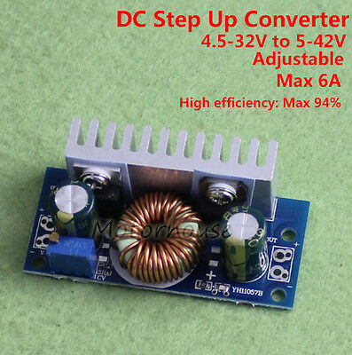DC-DC 4-32V to 5V-42V 12V  Boost Converter Step-up Voltage Module Power Supply
