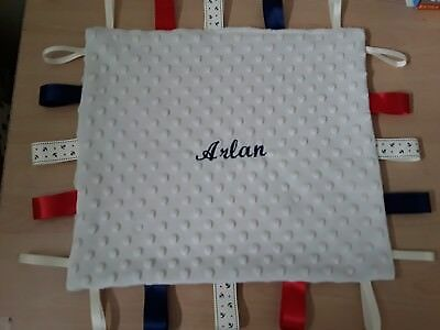 Personalised taggy blanket/comforter , ideal gift for Christmas (updated !!!)