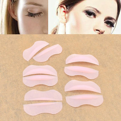 10pcs Silicone Lashes Recourbe-cils Friser Maquillage Coussin Permanente Pad DIY