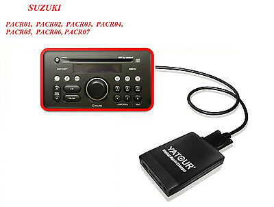 USB SD AUX Adapter passend für Suzuki Splash PACR 01 02 03 04 05 06 07 08 09