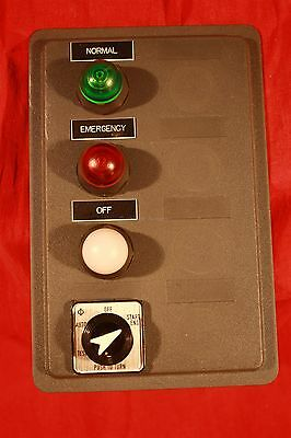 Westinghouse/Eaton/Cutter-Hammer Transfer Switch Push Button & Indicating Pannel