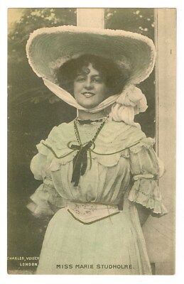 Stage Actress Marie Studholme Vintage Tinted Postcard Free Shipping