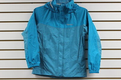 Marmot Girls PreCip Jacket Sea Glass/Sea Green 55680 New With Blemishes MSRP $65