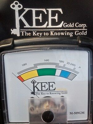"Kee Gold Tester ""The Prospector""(Gold & Platinum Analyzer) M509-GM NIB Upgraded"
